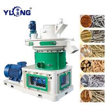 Машина для обработки древесных гранул из резины