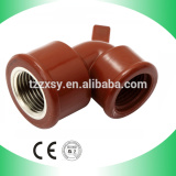high quality pph plastic female elbow for water supply