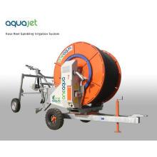 Máquina de riego de viaje con bomba diesel de alta presión