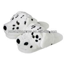 Симпатичные собаки дизайн зимой крытый плюшевых животных тапочки