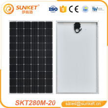China cheap monocrystalline 280W PV Module solar panel About