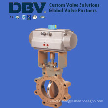 Pneumatic High Performance Lug Type Butterfly Valve