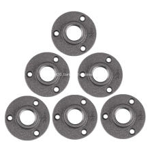 "3/4"" Pipe Flange Industrial Dark Grey Floor Flange"