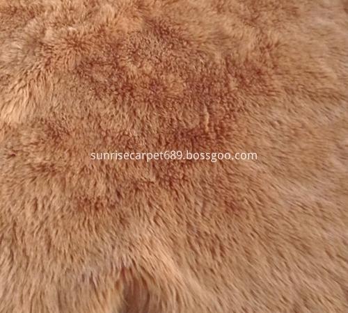 imitation fur rug