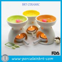 O mais novo design de queimador de óleo essencial de cerâmica
