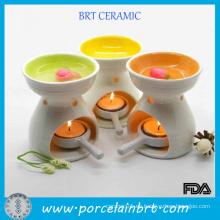 Quemador de aceite esencial de cerámica de diseño más nuevo