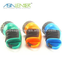 Plastic led flashlight torch