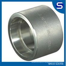 Encaixes forjados de aço inoxidável de ASME B16.11 / encaixe de alta pressão
