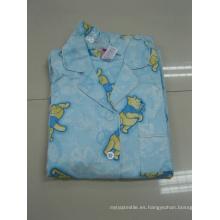Pijama estampado de algodón