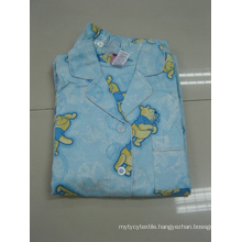 Cotton Flannel All Over Printed Pajamas
