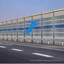 Aluminium Highway Metal Acoustic Noise Sound Barrier Fence