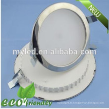 Alimentation en usine Ultrathin Round Led Downlight encastré 25W 8inch avec Cutter 210mm