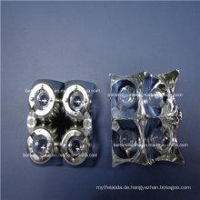 Evaporating Plating Aluminium LED Lichtabdeckung