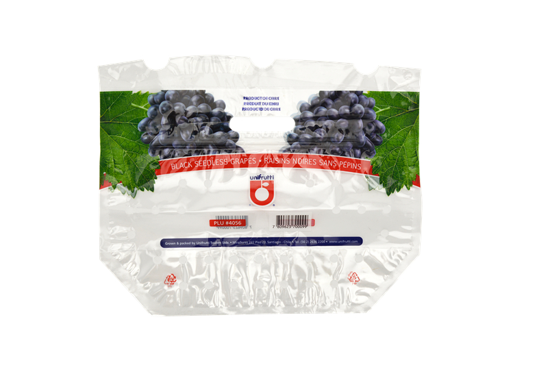 Customized Fruit packaging plastic ziplock bag with handle