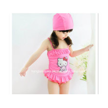 Little Girls Hello Kitty Cartoon Swimsuit