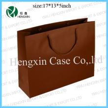 Sac à provisions en papier Sacs à provisions publicitaires promotionnels (HX-P2345)
