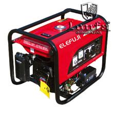 Generador de gasolina de 6.5kVA Elefuji tipo Sh6500
