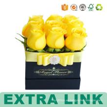 Ramos de flores que empaquetan las cajas de papel de encargo de la impresión del ramo
