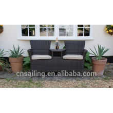 All Weather Rattan Loveseat Outdoor
