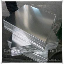 Placa de alumínio aa6063 para indústria de caminhões fabricada na China