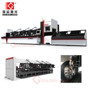 Fiber Pipe Laser Cutting Machine with Automatic Bundle Loading
