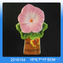 Dekorative Blume Design Keramik Luft Luftbefeuchter für Wohnkultur