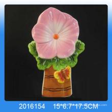 Декоративный цветочный дизайн Керамический увлажнитель воздуха для домашнего декора