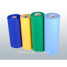 Fabrik Großhandel Poly / Baumwolle Einfarbig Plain Bettwäsche Stoff
