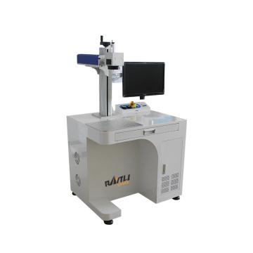 Desktop And Mini Portable Fiber Laser Marking Machine 80 Rotary Engraving Machine For Marking Ball