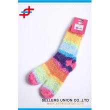 Polyester farbigen Regenbogen Mikrofaser Handtuch argyle Hause Handtuch nach Maß Socken Hersteller