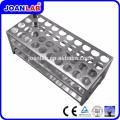 Rack de tubos de prueba de plexiglás JOANLAB para uso en laboratorio