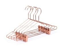 New display Rose copper metal clips hanger
