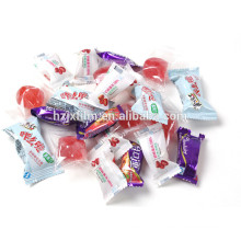 sliver coated jelly candy bag wrapper film