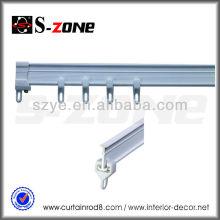 Rail en plastique PVC flexible pour fenêtre
