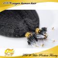 Os micro grânulos retos perversos do laço do anel derrubaram as extensões 0.9g / s do cabelo humano de Remy