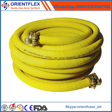 China Flexible Rubber Compressed Air Hose Manufacture