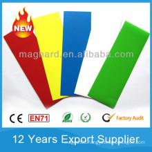 Flexible rubber Magnet film with Color PVC foil