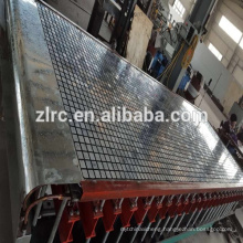 mesh 40x40mm 40mm thick fiberglass FRP molded grating machine