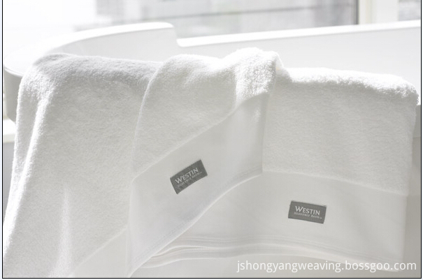 100%Cotton Hotel Dobby Design Towel Set