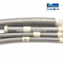 Hochtemperatur-AN6-Edelstahldraht umsponnener PTFE-Teflonschlauch-Preis