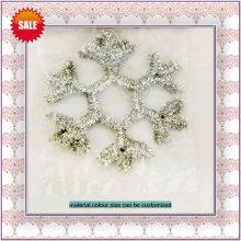 ornamento del árbol de navidad, chirstmas copo de nieve,