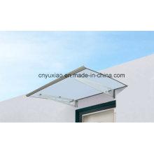 Тент с высокими стандартными выдвижными вертикальными навесами / дверями