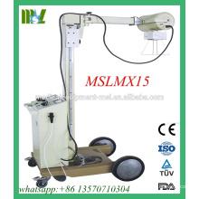 MSLMX15-M barato pero de buena calidad 100mA unidad móvil de rayos X móvil digital de la máquina de rayos X