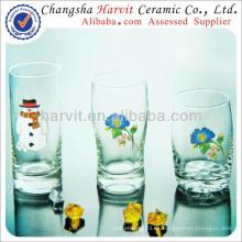 Drinkware Vajilla de cristal de cerveza Copas / taza de 3pcs Set Tumbler / copa de vidrio de beber
