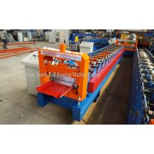 China Factories for Self-Locking Roll Forming Machine Hydraulic Self-locking Metal Sheet Roof Roll Forming Machine supply to Kenya Importers