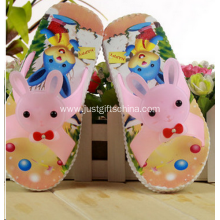 Child Summer Beach Flip Flops Rabbit Shape