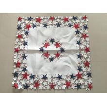 Mantel artesanal bordado a mano estilo americano