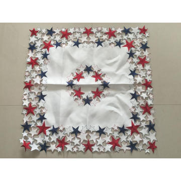 Handmade Cutwork Embroidery American Style Tablecloth