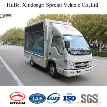 Euro 4 Foton 7cbm Billboard Vehicle with Good Quality