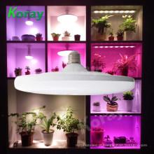 Espectro Completo E27 18 W LED Crescer luz Interior crescer Sistemas Hidropônicos lâmpadas para as plantas levaram